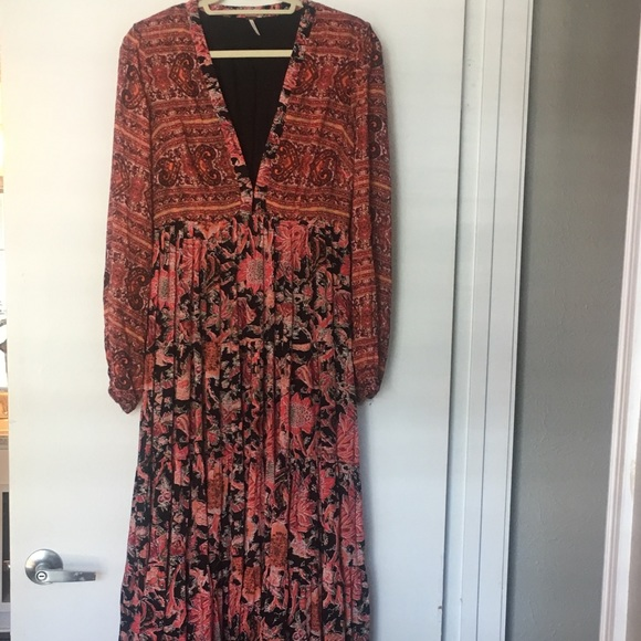 54fd6a649538 Free People Dresses | Dove Long Sleeved Maxi Dress | Poshmark